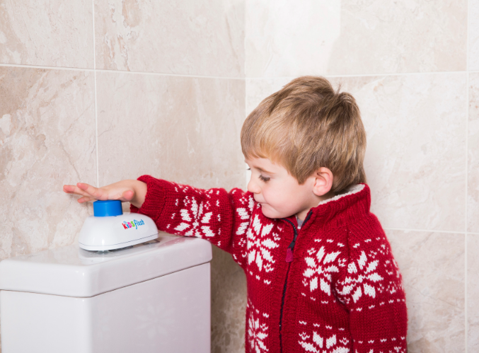 Kidsflush, the brand new toilet flushing solution for children